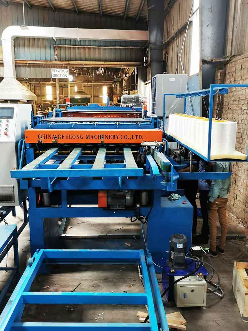 Máquina de composição de folheado SIEMENS estabelecida na Índia