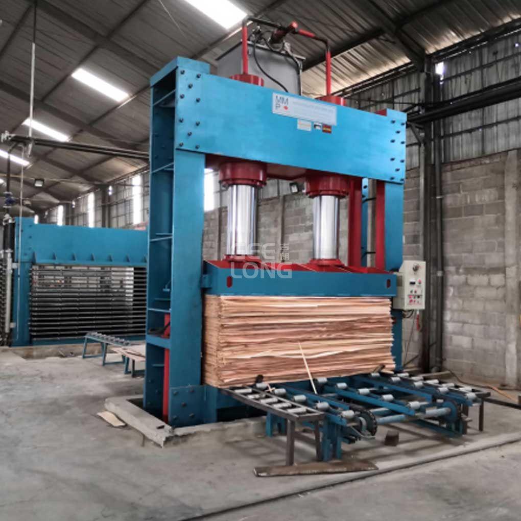 madeira compensada imprensa fria Geelong marca