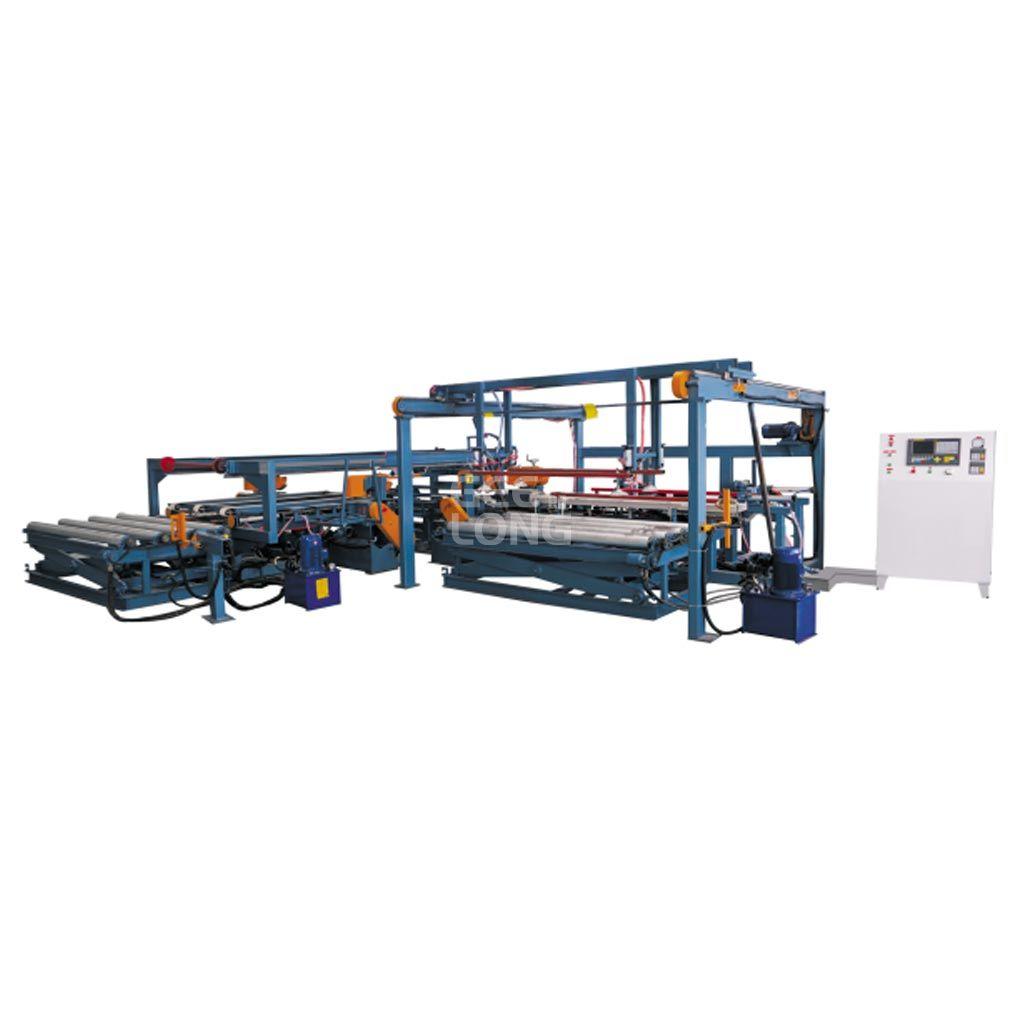Máquina de dimensionamento duplo de madeira compensada, máquina de corte de madeira compensada